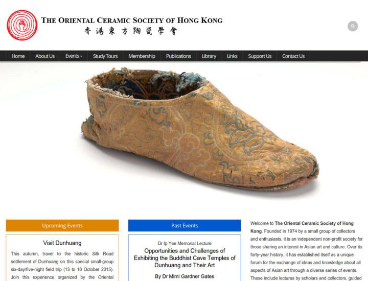 The Oriental Ceramic Society of Hong Kong